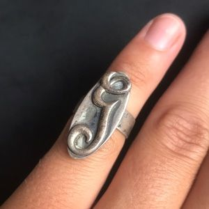 Adjustable sterling Graft ring